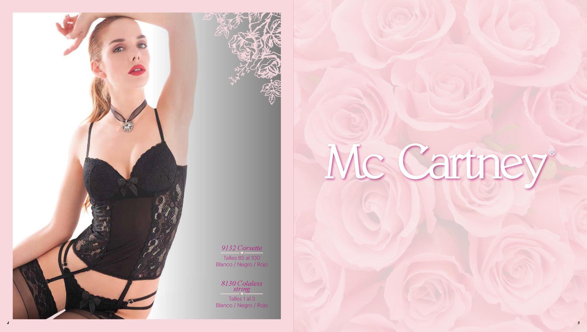 Catalogo de Lenceria Mc Cartney